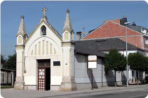 La ermita de Camponaraya en el camino de Santiago