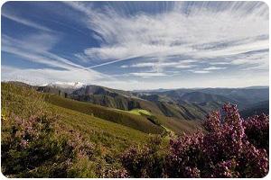 Sierra de los Ancares paisaje natural bierzo